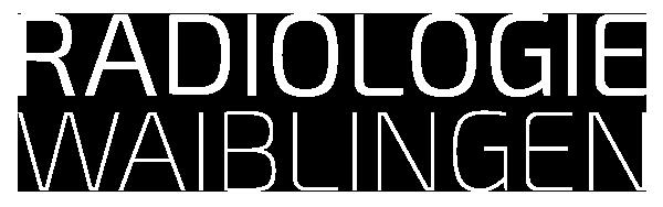 Radiologie Waiblingen Logo